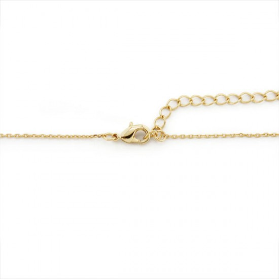 Allure Pearl Turquoise Gold Necklace